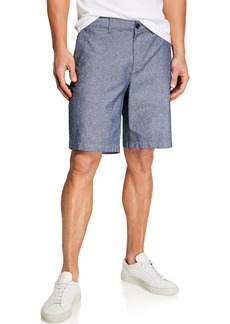 Original Penguin Men's Dotted Straight-Fit Shorts