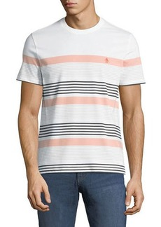 Original Penguin Men's Engineered Safari Striped T-Shirt