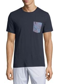 Original Penguin Men's Floral-Print Pocket T-Shirt
