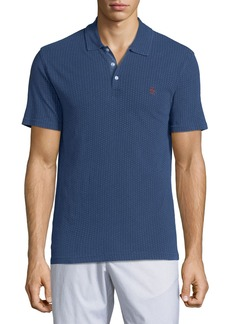 Original Penguin Men's Geo-Dot Embroidered Polo Shirt