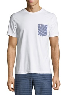 Original Penguin Men's Geometric-Print Pocket T-Shirt