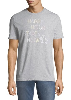 Original Penguin Men's Happy Hour Graphic Tee