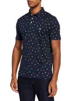 Original Penguin Men's Ice Cream Print Polo Shirt