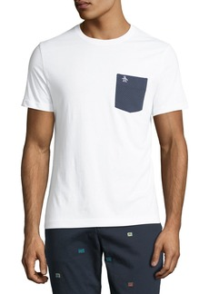 Original Penguin Men's Jacquard-Pocket Jersey T-Shirt
