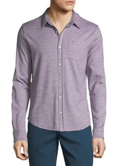 Original Penguin Men's Jaspe-Knit Sport Shirt