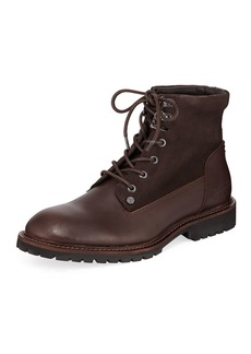 Original Penguin Men's Jesse Leather and Suede Boots