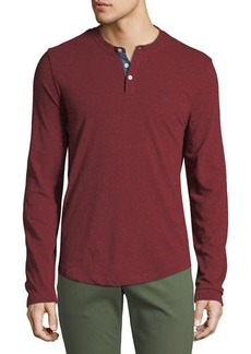 Original Penguin Men's Long-Sleeve Henley T-Shirt