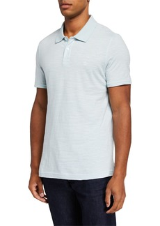 Original Penguin Men's Mini Stripe Slub Polo Shirt