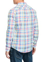 Original Penguin Men's Multicolor Plaid Button-Down Shirt