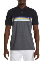 Men's Original Penguin Chest Stripe Short Sleeve Polo