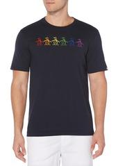 Men's Original Penguin Pride Embroidered Penguin T-Shirt