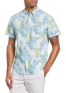 Original Penguin Short Sleeve Button-Down Shirt