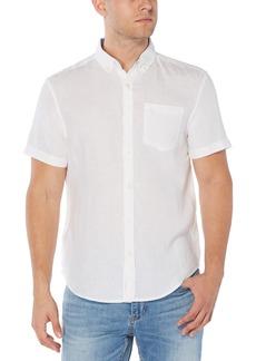 Men's Original Penguin Slim Fit Short Sleeve Button-Down Shirt