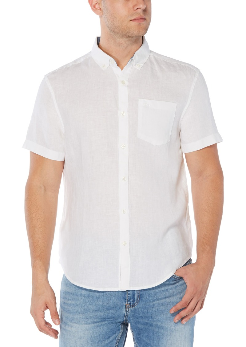 Original Penguin Slim Fit Short Sleeve Button-Down Shirt