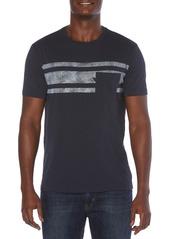 Men's Original Penguin Slub Stripe Pocket T-Shirt
