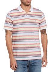 Men's Original Penguin Stripe Cotton Pique Polo