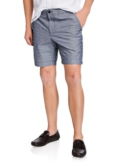 "Original Penguin Men's P55 8"" Dobby Check Shorts"