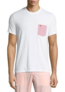 Original Penguin Men's Pepper-Print Pocket T-Shirt
