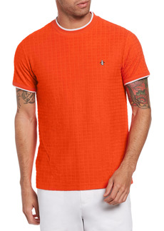 Original Penguin Terry Geo Jacquard T-Shirt
