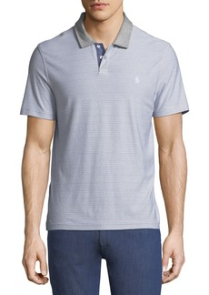 Original Penguin Men's Reverse Feeder Striped Polo Shirt