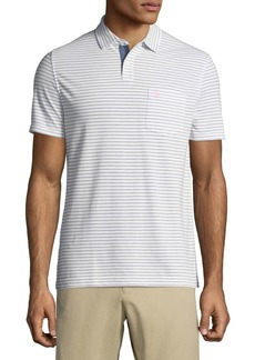Original Penguin Men's Shadow-Striped Pique-Knit Polo Shirt