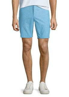 Original Penguin Men's Shell-Print Chambray Shorts
