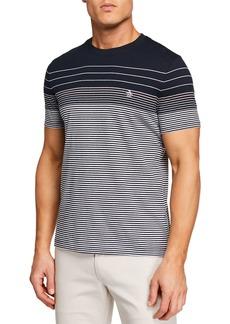 Original Penguin Men's Short-Sleeve Engineered Stripe T-Shirt