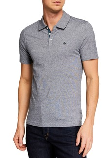 Original Penguin Men's Short-Sleeve Feeder Stripe Polo Shirt