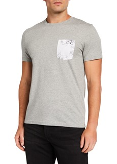 Original Penguin Men's Short-Sleeve Tropical-Pocket T-Shirt