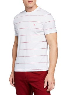 Original Penguin Men's Space-Dye Stripe T-Shirt