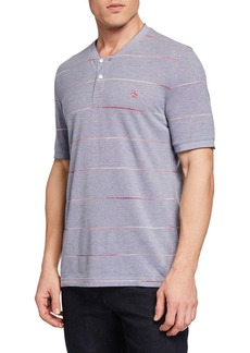 Original Penguin Men's Spacedye Stripe Henley T-Shirt