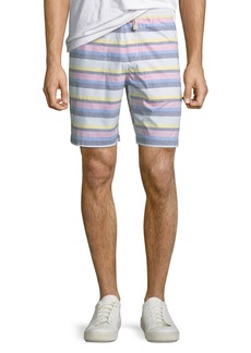 Original Penguin Men's Striped Pull-On Shorts