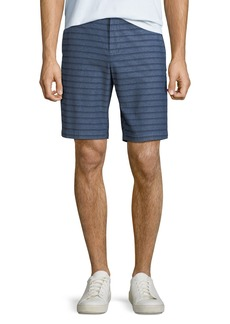 Original Penguin Men's Striped Straight-Leg Shorts