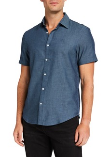 Original Penguin Men's Tic Dobby Sport Shirt