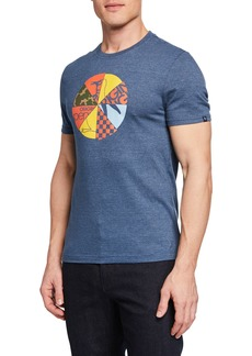 Original Penguin Men's Wheel of Pete Graphic T-Shirt