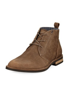 Original Penguin Monty Leather Lace-Up Boot