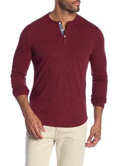 Original Penguin Nep Henley Long Sleeve Shirt