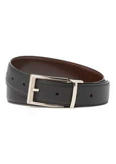 Original Penguin New Saffiano Leather Reversible Belt