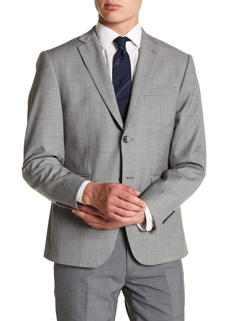 Original Penguin Notch Collar Front Button Suit Separate Blazer