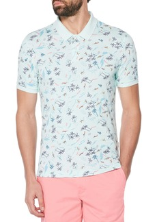 Original Penguin Beach Print Polo