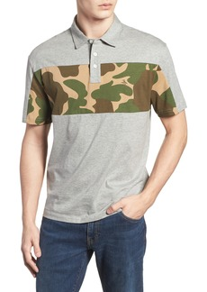 Original Penguin Camo Print Block Polo