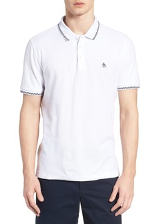 Original Penguin Check Tipped Polo