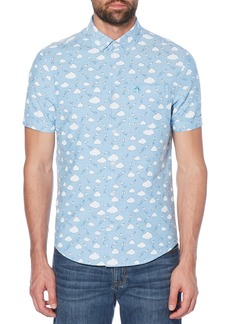 Original Penguin Cloud Print Oxford Shirt