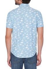Original Penguin Cloud Print Oxford Shirt