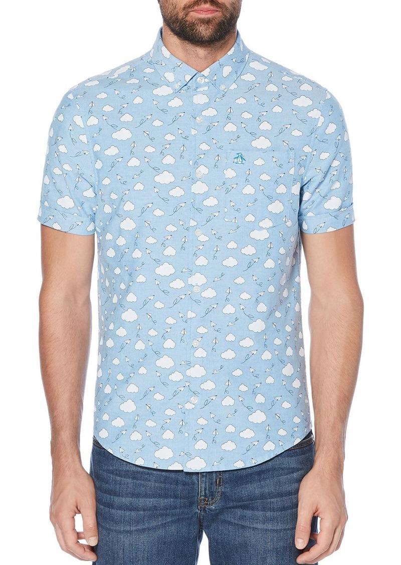 Original Penguin Cloud Print Regular Fit Shirt
