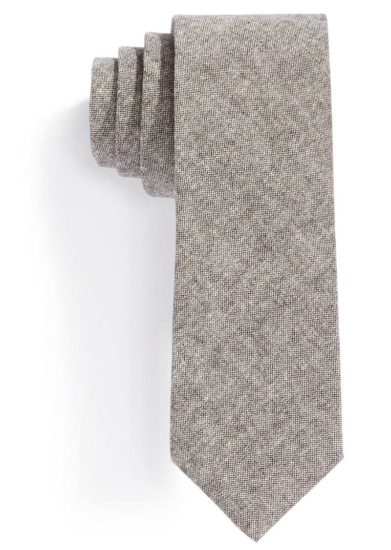 Original Penguin Coco Chambray Solid Skinny Tie