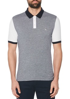 Original Penguin Color-Block Slim Fit Polo Shirt