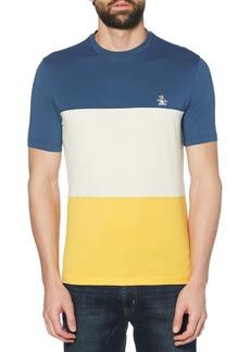 Original Penguin Colorblock Cotton Jersey Tee