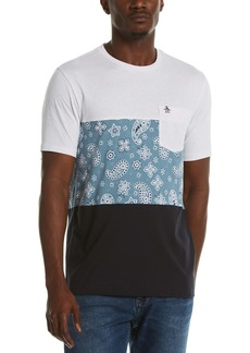 Original Penguin Colorblock Graphic Tee
