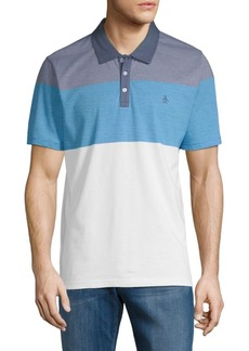 Original Penguin Colorblocked Cotton Polo